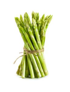 Fresh green Kenya asparagus